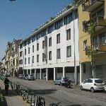 Street view of the hotel