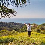 The coast off of Dominicalito