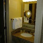 Bathroom with wonderful mirror