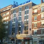 facade de l'hôtel