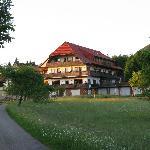 Zicht op Gasthof Zum Breitenberg