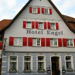 Front of the Hotel & Restaurant ENGEL