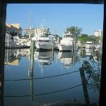 The Marina from the cottage door