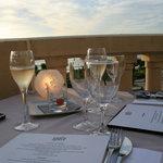 Champagne bu, choix du menu !