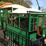 The Water Railway at the top in Lynton