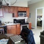 Kitchen with dinning table.