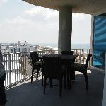 Balcony off of living area - dining out here is a must