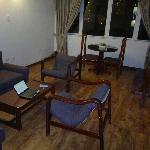 sala conjugada com apartamento