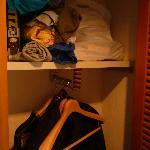 Super tiny closet
