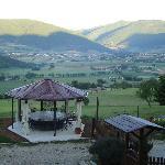 Das Tal von Norcia vom Casale aus