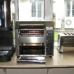 Hot water for tea and toasters