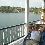 Relax at the veranda