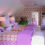Children's loft room