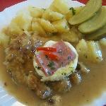 main meal chicken breast in lemon sauce