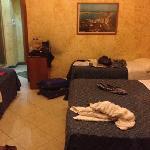 our room, standard quad
