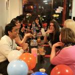 private b'day party at spicy affair