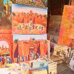 paintings in the souk