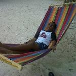 lazing away