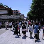 entering the Nakamise shopping street