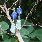 Choose from a large selection of sea glass earrings
