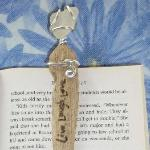 Unique gifts such as bookmarkers (shown here), Wine Glass Charms, Car Charms, and more