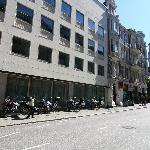 il parcheggio per le motociclette