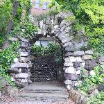 gates inside Iveagh Garden