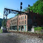 Thurmond Rail Lines and Old Buildings