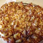 bar-b-que chicken pizza