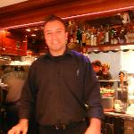 Our Server - may be owner - friendly and very nice at Bar Al Campanile