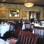 Interior, Sapore's main dining area