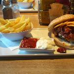 Chilli burger... Yum!