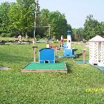 Mini- golf course