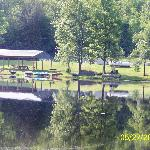 Lake area and picnic area