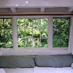 Partial view from inside Cottage