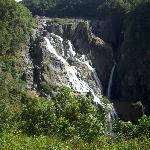 A view of the falls from the train