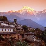 Annapurna Trekking Mountain View