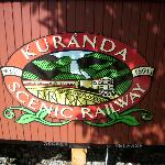 Kuranda Railway Sign
