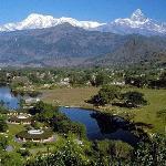 An romantic city Pokhara