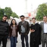 Anil Kapoor, Saif Ali Khan with Ms.Jugnu - Race 2 Shooting