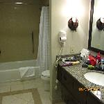 bathroom with good counter space