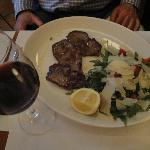 Beef & salad