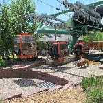 Tram at lower base