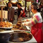 One of Insadong vendors, 30 minute walk away