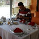 Otelin Restauranı & kahvaltı Salonu
