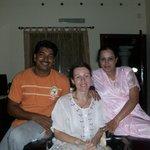 Biju & Natasha with Sindhu