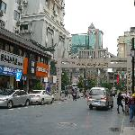 The walking street near hotel, just few steps away