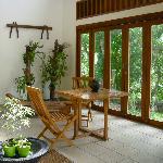 Mezzanine villa