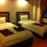 A twin aircon room