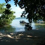 Bay in front of Resort